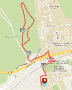 Run route 2016